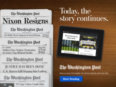 "Le Washington Post mise sur le format ""news feed"""