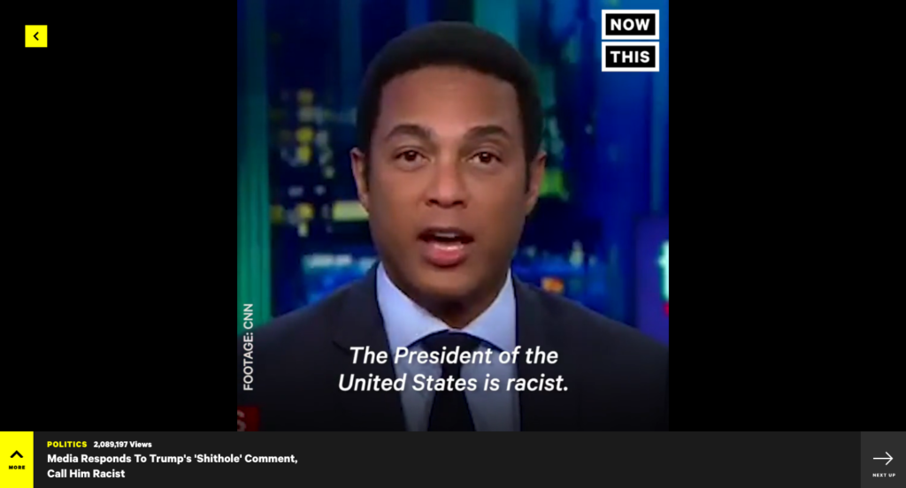 NowThis New Website
