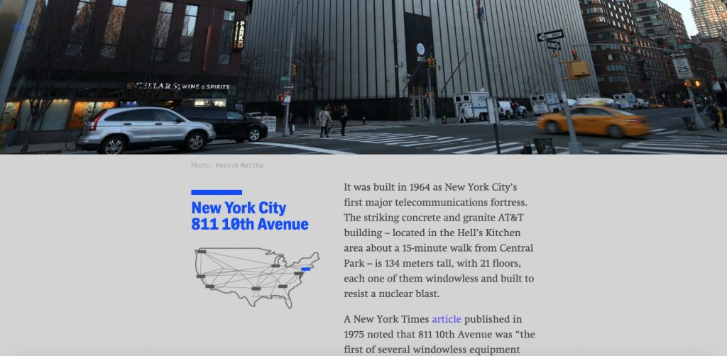 Investigation in the NSA's secret spy hubs with AT&T, by The Intercept