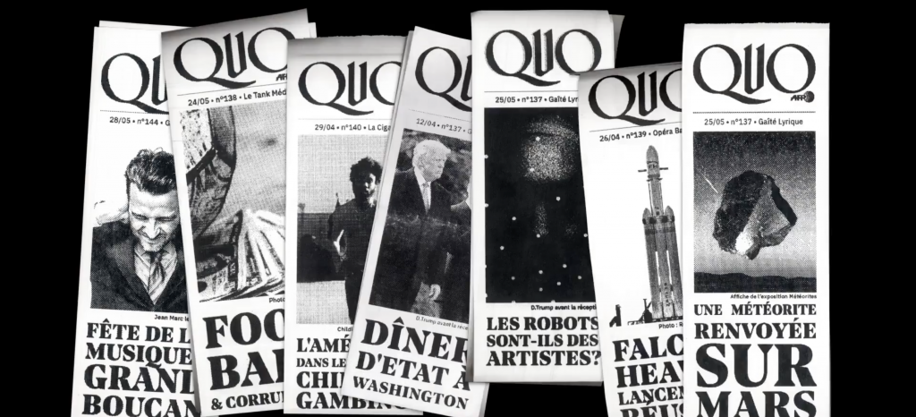 Quo - An AFP project by Gobelins students