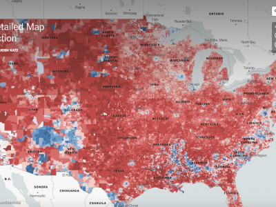 An Extremely Detailed Map of the 2016 Election