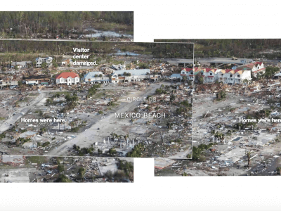 One Mile of Devastation in Florida