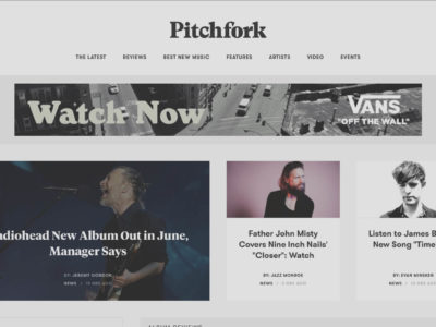 Behind The Redesign: a conversation with Pitchfork's tech team