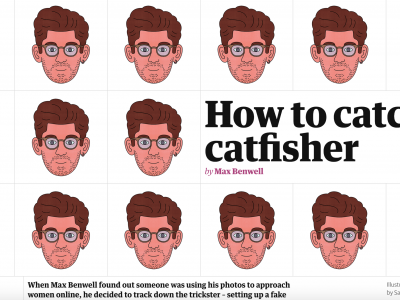 How to catch a catfisher